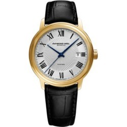 Analog Maestro Leather Watch found on MODAPINS from The Bay for USD $1550.00