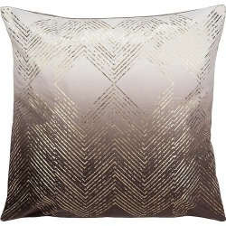 Safavieh Sarla Toss Pillow - Brown Gold found on Bargain Bro from Saks Fifth Avenue OFF 5TH for USD $26.59