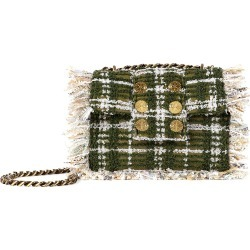 Kooreloo Women's Petite Pillow Fringe Tweed Shoulder Bag - Green found on MODAPINS from Saks Fifth Avenue for USD $395.00