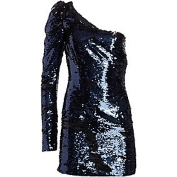 Amen Women's One-Shoulder Sequin Mini Dress - Dark Blue - Size 40 (2-4) found on MODAPINS from Saks Fifth Avenue for USD $510.00
