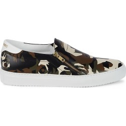 Les Hommes Men's Camo Slip-On Sneakers - Camouflage - Size 9 found on MODAPINS from Saks Fifth Avenue OFF 5TH for USD $189.99