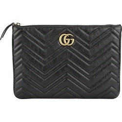 Gucci Women's GG Marmont Pouch - Black found on MODAPINS from Saks Fifth Avenue for USD $790.00