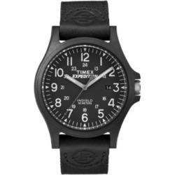 Analog Expedition Black IP Nylon Strap Watch found on MODAPINS from The Bay for USD $49.00