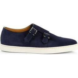 Holme Double-Buckle Suede Plimsolls found on Bargain Bro from Saks Fifth Avenue AU for USD $762.48