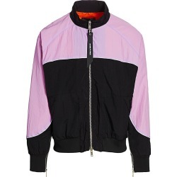 Daniel Patrick Men's Colorblock Bomber Jacket - Purple Haze - Size XL found on MODAPINS from Saks Fifth Avenue for USD $195.00