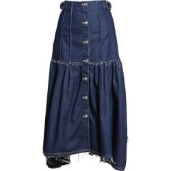 Pleated Button Front Denim Midi Skirt found on Bargain Bro Philippines from Saks Fifth Avenue AU for $1377.07