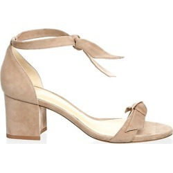Alexandre Birman Women's Clarita Bow Suede Sandals - Cameo - Size 39.5 (9.5) found on MODAPINS from Saks Fifth Avenue for USD $595.00