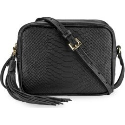 Madison Python-Embossed Leather Crossbody Bag found on Bargain Bro UK from Saks Fifth Avenue UK