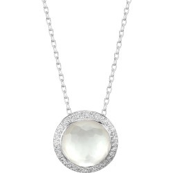 Ippolita Women's Lollipop® Carnevale Sterling Silver, Doublet & Diamond Pendant Necklace - Silver - Size 18 found on Bargain Bro Philippines from Saks Fifth Avenue for $695.00