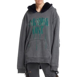 Alchemist Women's PerfectParadise Lost Rabbit Fur Hoodie - Black - Size Small found on MODAPINS from Saks Fifth Avenue for USD $1160.00