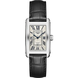 Longines Men's DolceVita Stainless Steel Alligator-Strap Watch - Silver found on MODAPINS from Saks Fifth Avenue for USD $1575.00