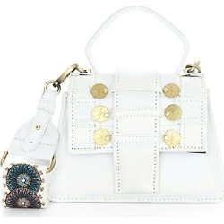 Kooreloo Women's Petite Trapezoid Faux Leather Satchel - White found on MODAPINS from Saks Fifth Avenue for USD $595.00