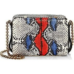 Lutz Morris Women's Hand Painted Python Embossed Leather Crossbody Bag found on MODAPINS from Saks Fifth Avenue for USD $1395.00