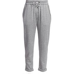 Brunello Cucinelli Women's Silk-Blend Jersey Track Pants - Grey - Size XXS found on MODAPINS from Saks Fifth Avenue for USD $975.00