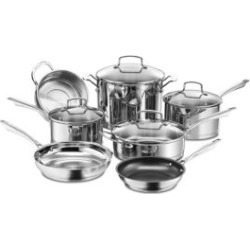 11-Piece Professional Series Stainless Steel Cookware Set