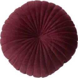 Coussin rond en velours de coton Kerek found on Bargain Bro from La Baie for USD $24.31