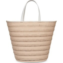 Melka Leather-Trimmed Tote found on Bargain Bro India from Saks Fifth Avenue Canada for $2595.04