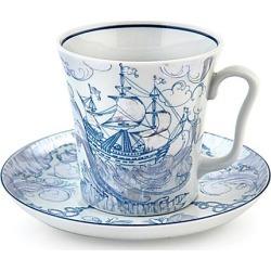 Imperial Porcelain Mug & Saucer Set