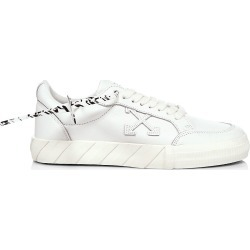 Off-White Men's Low Vulcanized Leather Sneakers - White - Size 7 found on MODAPINS from Saks Fifth Avenue for USD $405.00
