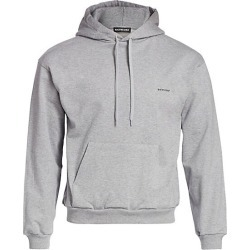 Balenciaga Men's Logo Hoodie - Grey - Size Medium found on MODAPINS from Saks Fifth Avenue for USD $650.00