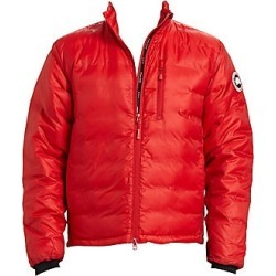 Canada Goose Men's Lodge Down Jacket - Red Black - Size Large found on Bargain Bro India from Saks Fifth Avenue for $525.00