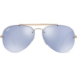 RB3584 61MM Blaze Aviator Sunglasses