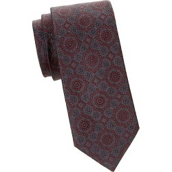 Brioni Men's Medallion Silk Tie - Graphite found on MODAPINS from Saks Fifth Avenue for USD $240.00