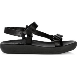 Ancient Greek Sandals Women's Poria Leather Flatform Sport Sandals - Black - Size 9 found on MODAPINS from Saks Fifth Avenue for USD $325.00
