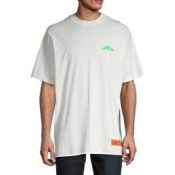 Heron Preston Men's Graphic Pima Cotton T-Shirt - White Green - Size S found on MODAPINS from Saks Fifth Avenue OFF 5TH for USD $159.99