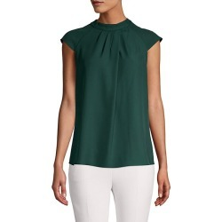 Pleated Cap-Sleeve Top found on Bargain Bro Philippines from Saks Fifth Avenue OFF 5TH for $34.99