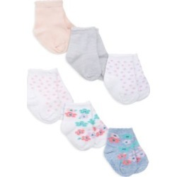 Baby Girl's Everyday Crews 6-Piece Sock Set