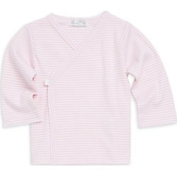 Kissy Kissy Baby Girl's Striped Cotton Tee - Pink - Size 3-6 Months