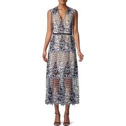 Floral & Vine A-Line Dress