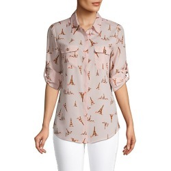 Printed Long-Sleeve Shirt found on Bargain Bro Philippines from Saks Fifth Avenue OFF 5TH for $39.99