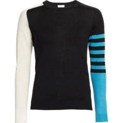 Colorblock Stripe Wool Knit Sweater found on Bargain Bro Philippines from Saks Fifth Avenue AU for $526.37