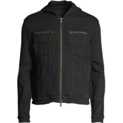 Hooded Jean Jacket found on Bargain Bro India from Saks Fifth Avenue Canada for $182.11