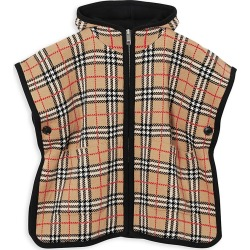 Burberry Girl's Archive Check Hooded Cape - Archive Begie - Size Large (14) found on Bargain Bro India from Saks Fifth Avenue for $490.00