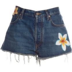 Hawaiian Flowers Jean Shorts found on Bargain Bro India from Saks Fifth Avenue AU for $467.25