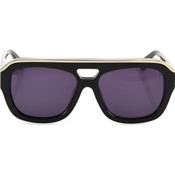 Dax Gabler Women's Oversized Aviator Sunglasses - Black found on MODAPINS from Saks Fifth Avenue for USD $550.00