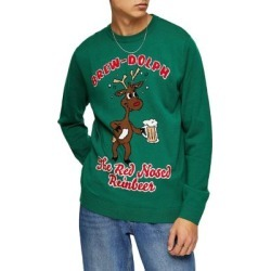 Holiday Brewdolph Sweater found on MODAPINS from The Bay for USD $20.22