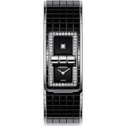 Chanel Code Coco Black Ceramic & Diamond Pavé Watch found on Bargain Bro Philippines from Saks Fifth Avenue for $11000.00