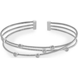 925 Sterling Silver & Diamond Bangle Bracelet found on Bargain Bro India from Lord & Taylor for $587.50