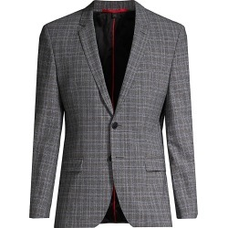 HUGO Men's Arti Stretch Wool-Blend Jacket - Grey - Size 42 found on MODAPINS from Saks Fifth Avenue for USD $177.99