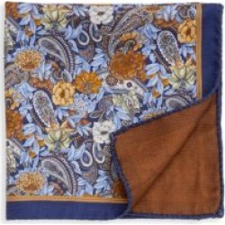 COLLECTION Wild Flower Silk Pocket Square found on Bargain Bro India from Saks Fifth Avenue AU for $56.48