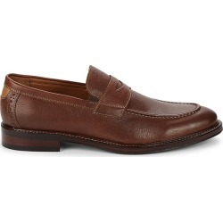 Johnston & Murphy Men's Warner Leather Penny Loafers - Tan - Size 11.5 found on Bargain Bro from Saks Fifth Avenue OFF 5TH for USD $60.79