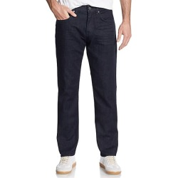 7 For All Mankind Men's The Straight Jeans - Dark Blue - Size 33 R
