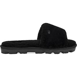 UGG Women's Cozette Sheepskin Slides - Black - Size 9 Sandals found on Bargain Bro India from Saks Fifth Avenue for $80.00