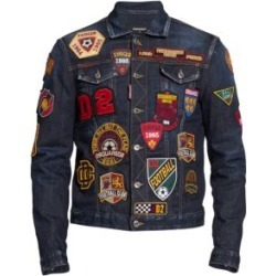 Denim College Patch Jacket found on Bargain Bro India from Saks Fifth Avenue Canada for $901.42