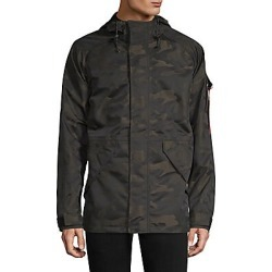 Alpha Industries Men's Torrent Camo Hooded Parka - Black Camo - Size XS found on MODAPINS from Saks Fifth Avenue for USD $250.00