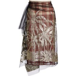 Embellished Plaid Midi Skirt found on Bargain Bro India from Saks Fifth Avenue AU for $446.00